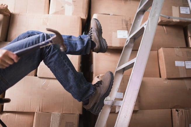 Les risques liés à la chute lors du travail en hauteur